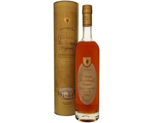 Коньяк Chateau de Montifaud VSOP Fine Petite Champagne AOC gift tube 0.7 л