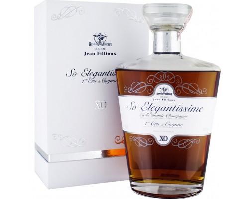 Коньяк Jean Fillioux So Elegantissime XO gift box 0.7 л