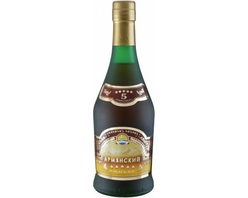 Коньяк Армянский 5 Звезд 0.5 л