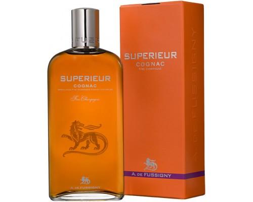 Коньяк A. de Fussigny Superieur Fine Champagne AOC gift box 0.7 л