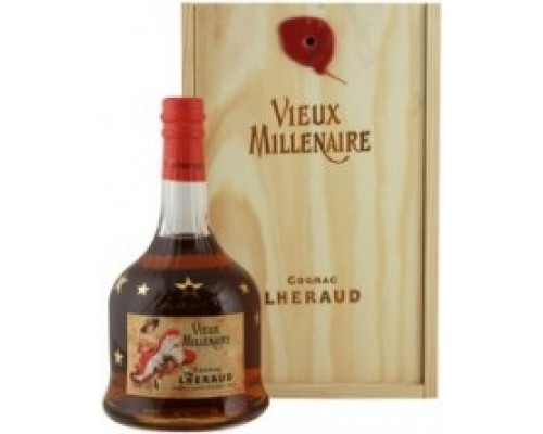 Lheraud Cognac Vieux Millenaire wooden box 0.7 л