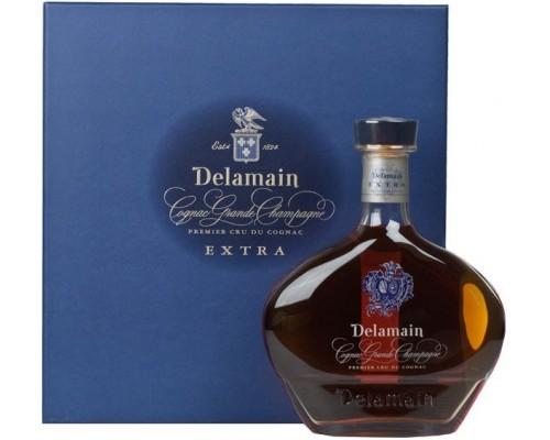 Коньяк Delamain Extra gift box 0.7 л