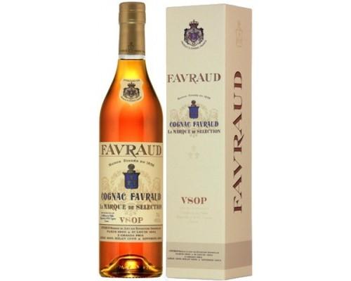 Коньяк Favraud VSOP gift box 0.7 л