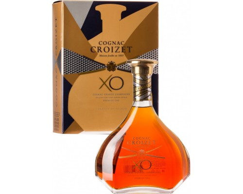 Croizet XO Cognac AOC in decanter & gift box 0.7 л