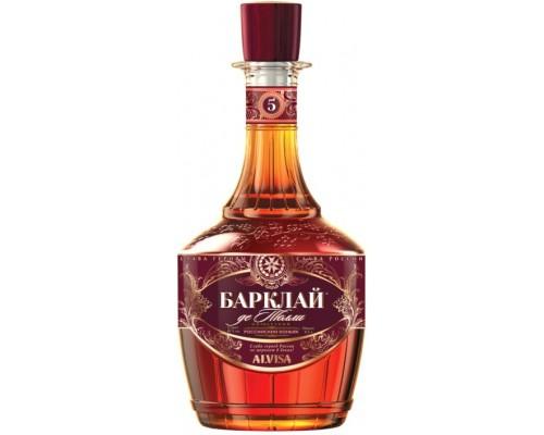 Коньяк Барклай де Толли Пятилетний 0.5 л
