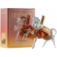 Коньяк Конь 5-летний в подарочной коробке 250 мл