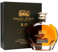 Коньяк Leyrat XO Elite decanter in gift box 0.7 л
