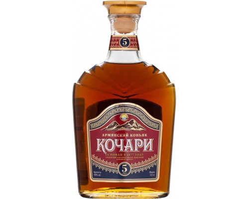 Коньяк Kochari 5 Years Old 0.5 л
