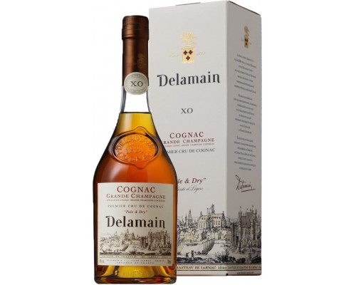 Коньяк Delamain Pale & Dry XO gift box 0.7 л