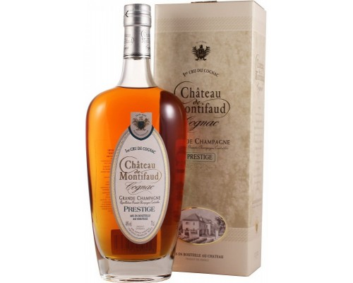 Коньяк Chateau de Montifaud V.S.O.P. Grande Champagne AOC gift box 0.7 л