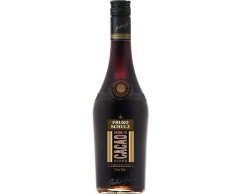 Ликер Fruko Schulz Creme De Cacao Brown 0.7 л