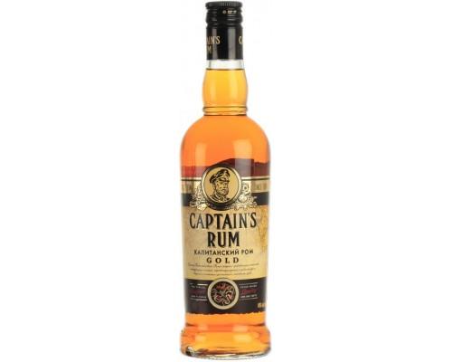Ликер Captain's Rum Gold Bitter 0.5 л