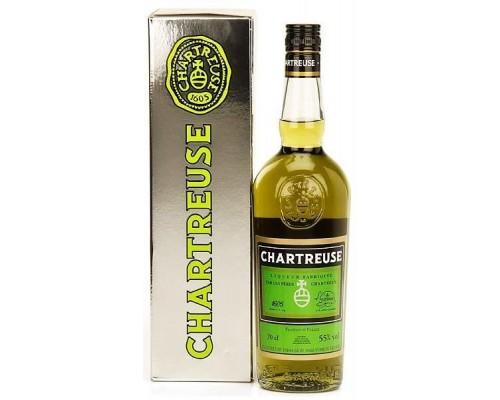 Ликер Chartreuse Verte gift box 0.7 л