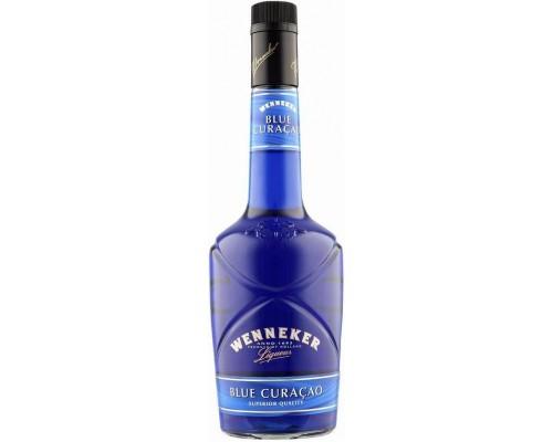 Ликер Wenneker Blue Curacao 0.7 л