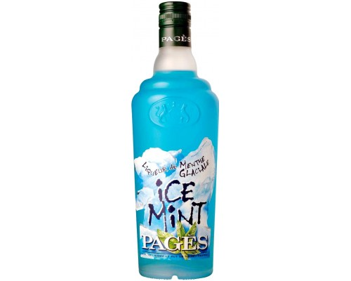 Ликер Pages Ice Mint 0.7 л