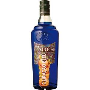 Ликер Pages Curacao Bleu 0.7 л