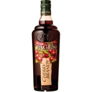 Ликер Pages Cherry Brandy 0.7 л