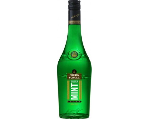 Ликер Fruko Schulz Green Mint 0.7 л