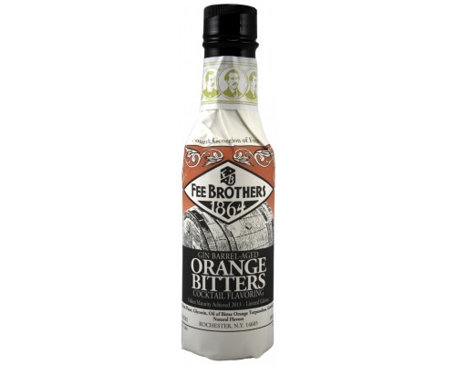 Ликер Fee Brothers Gin Barrel-Aged Orange Bitters 150 мл