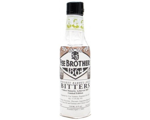 Ликер Fee Brothers Whiskey Barrel-Aged Bitters 150 мл
