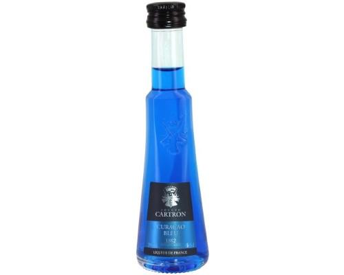 Ликер Joseph Cartron Curacao Bleu 30 мл