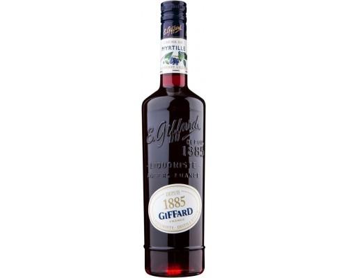 Ликер Giffard Creme de Myrtille 0.7 л