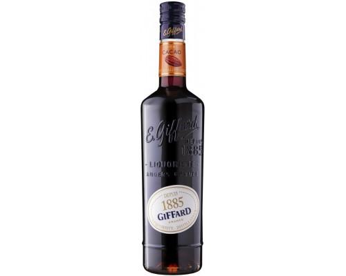 Ликер Giffard Creme de Cacao Brown 0.7 л