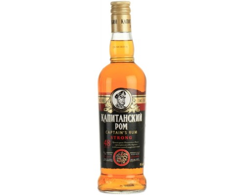 Ликер Captain's Rum Strong Bitter 0.5 л