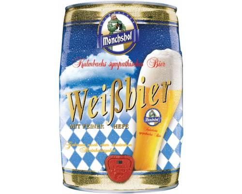 Пиво Monchshof Weissbier mini keg 5 л
