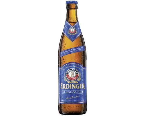 Пиво Erdinger Weissbier Alkoholfrei 0.5 л