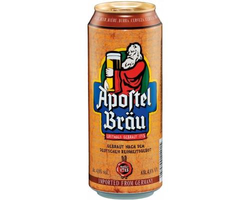 Пиво Apostel Brau in can 0.5 л