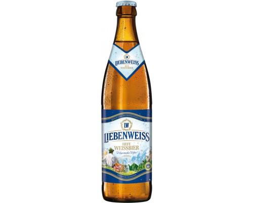 Пиво Liebenweiss Hefe-Weissbier 0.5 л