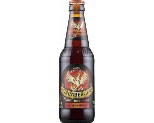Пиво Grimbergen Double Ambree 0.33 л