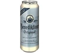 Пиво Benediktiner Original Hell in can 0.5 л