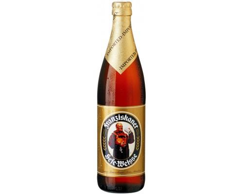 Пиво Franziskaner Hefe-Weisse 0.5 л