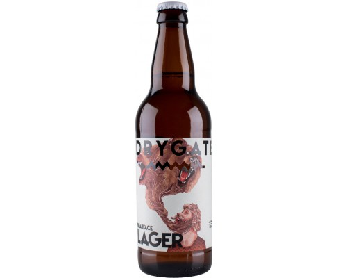 Пиво Drygate Bearface Lager 0.5 л