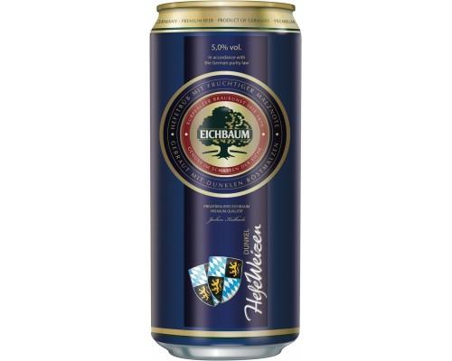 Пиво Eichbaum HefeWeizen Dunkel in can 0.5 л