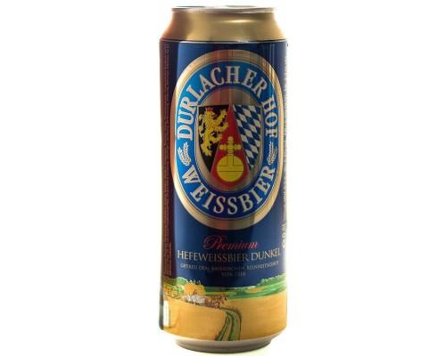 Пиво Durlacher Hefeweissbier Dunkel in can 0.5 л