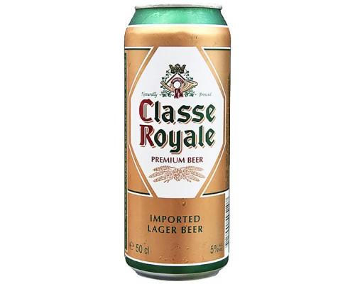 Пиво Classe Royale Premium Lager in can 0.5 л