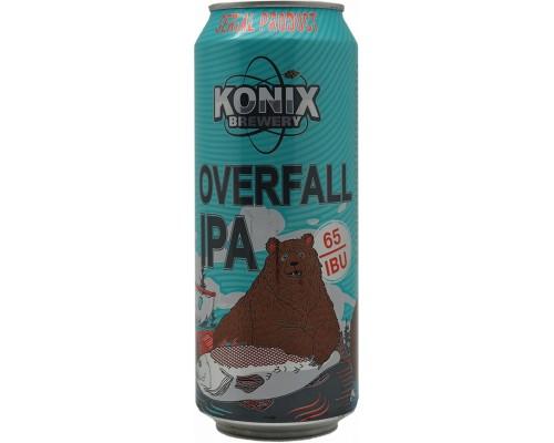 Пиво Оверфолл ИПА в жестяной банке 0.5 л