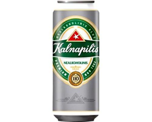 Пиво Kalnapilis Nealkoholinis in can 0.5 л