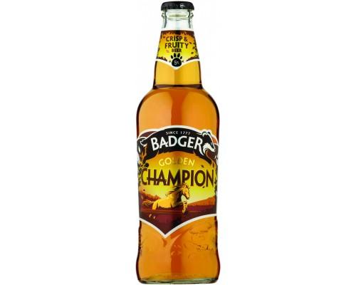 Пиво Badger Golden Champion 0.5 л