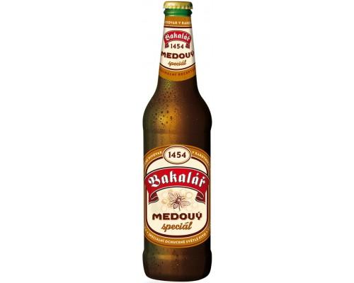 Пиво Bakalar Medovy Special 0.5 л