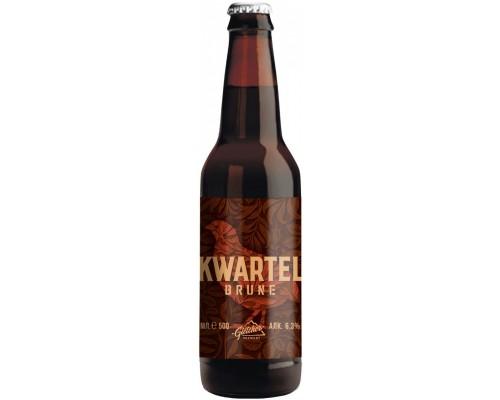 Пиво Gletcher Kwartel Brune 0.5 л