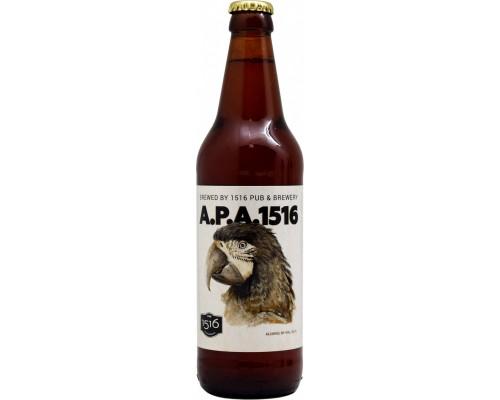 Пиво 1516 APA 0.5 л