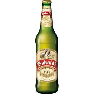 Пиво Bakalar Svetle Vycepni 0.5 л
