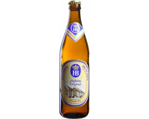 Пиво Hofbrau Original 0.5 л