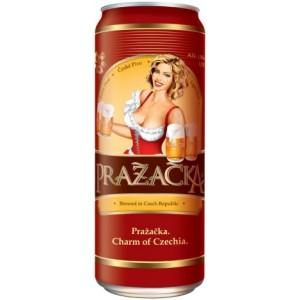 Пиво Prazacka Svetle in can 0.5 л
