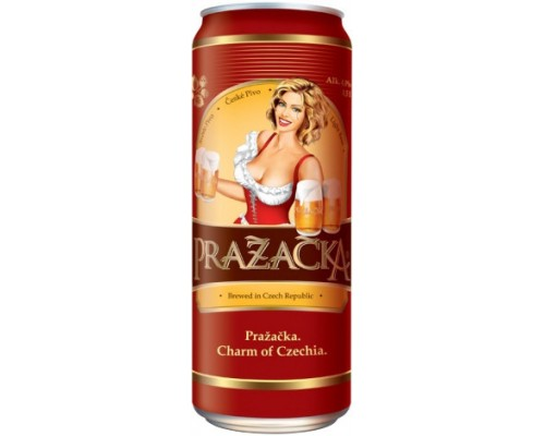 Пиво Prazacka Svetle in can 0.5 л