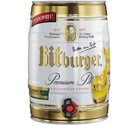 Пиво Bitburger Premium Pils mini keg 5 л